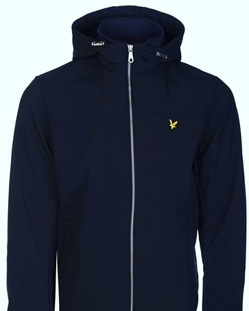 Hooded Softshell Lyle & Scott