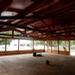 Een leeg paviljoen