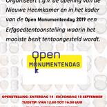 Erfgoedtentoonstelling (14/15-09-2019)