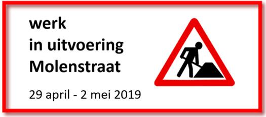 Afsluiting Molenstraat