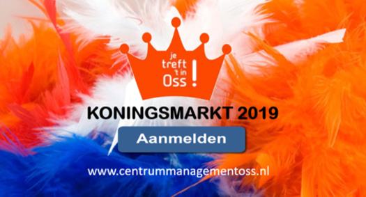 Deelname Koningsmarkt 2019