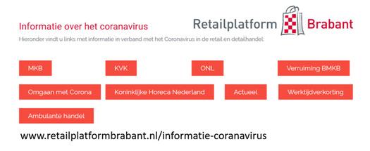 Informatie corona ondernemers