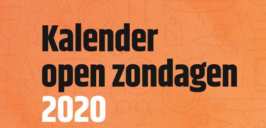 Open zondagen 2020
