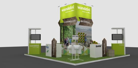 Impressie KWBN/Wandel.nl-stand