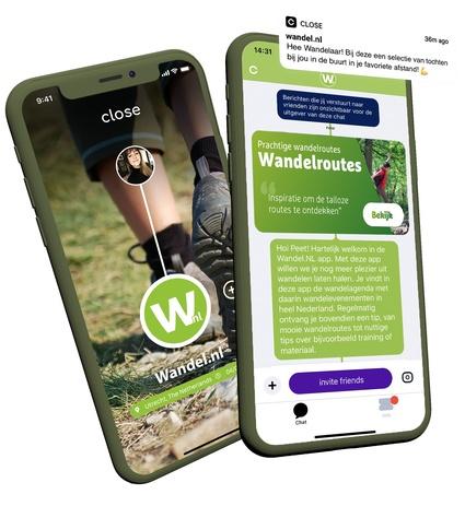 Nieuw: de Wandel.nl app!