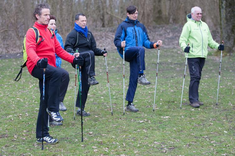 Samen met de Atletiekunie: stimuleren van nordic walking
