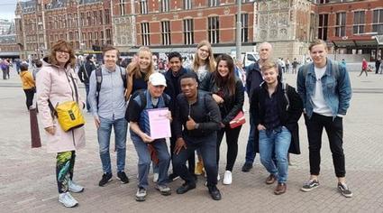 UNESCO-jongeren lopen proloog Westerborkpad