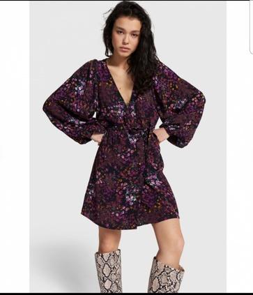 Alix Ditsy flower dress