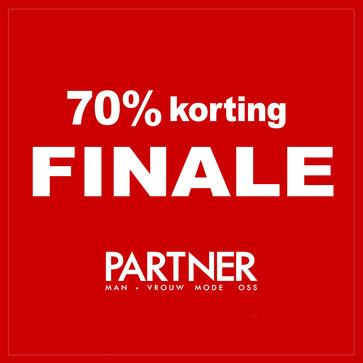 Finale sale 70% korting Op=Op