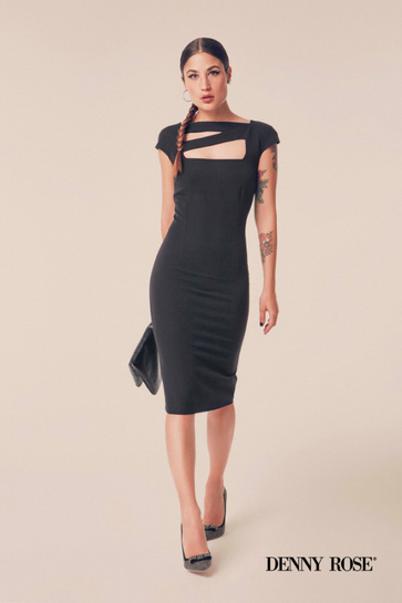 Denny Rose classic black dress!